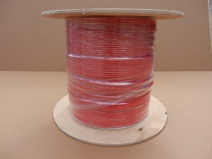 Solar cable  6 mm2, double insulation, 500m roll, red